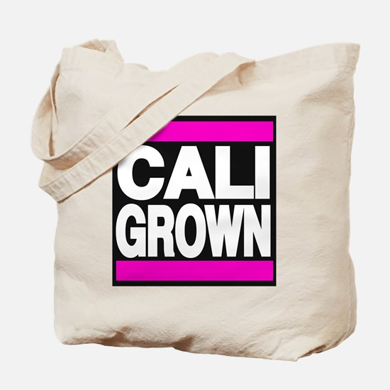 caligrown pink Tote Bag