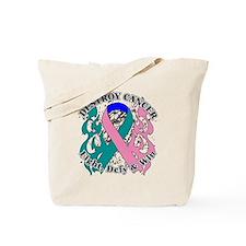 Destroy Thyroid Cancer Tote Bag