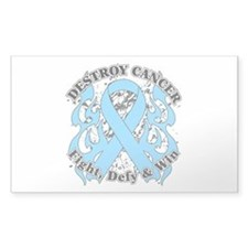 Destroy Prostate Cancer Decal