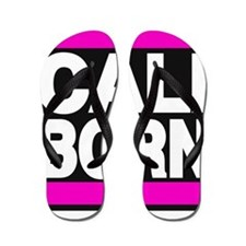 caliborn pink Flip Flops