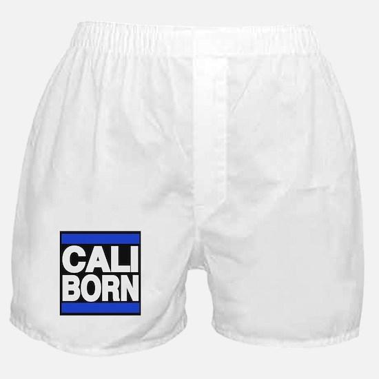 caliborn blue Boxer Shorts