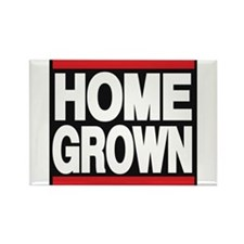 homegrown red Rectangle Magnet