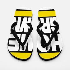 homegrown yellow Flip Flops