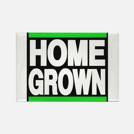 homegrown green Rectangle Magnet