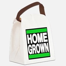 homegrown green Canvas Lunch Bag