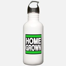 homegrown green Water Bottle