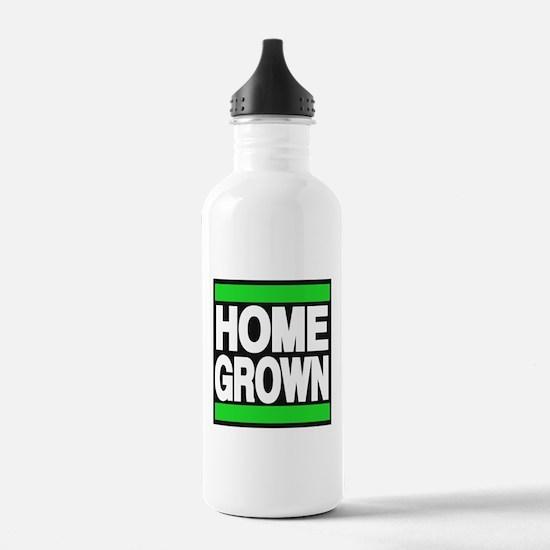 homegrown green Water Bottle
