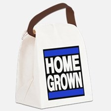 homegrown blue Canvas Lunch Bag