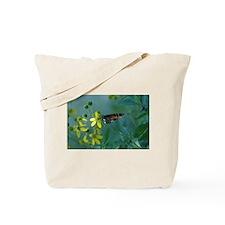Monarch/ Flower Tote Bag