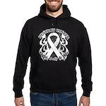 Destroy Mesothelioma Cancer Hoodie (dark)