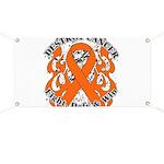Destroy Leukemia Cancer Banner
