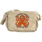 Destroy Leukemia Cancer Messenger Bag
