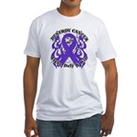 Destroy GIST Cancer Fitted T-Shirt