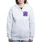 Destroy GIST Cancer Women's Zip Hoodie