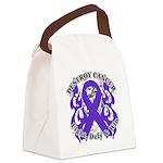 Destroy GIST Cancer Canvas Lunch Bag