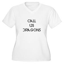 Basic Motto Plus Size T-Shirt