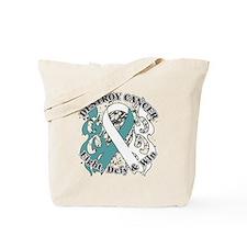 Destroy Cervical Cancer Tote Bag