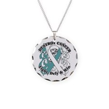 Destroy Cervical Cancer Necklace Circle Charm