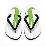 Crocodile Flip Flops