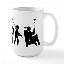 Pipe Smoking Mug