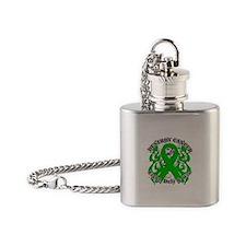 Destroy Bile Duct Cancer Flask Necklace