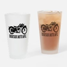 Bronson Moto Mfg. Drinking Glass