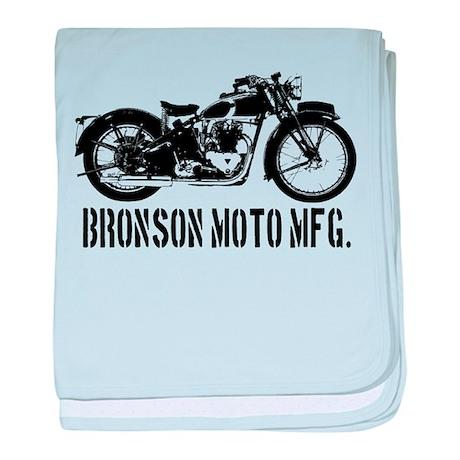 Bronson Moto Mfg. baby blanket