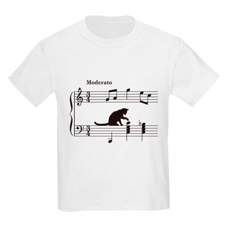 CafePress Cat Toying with Note v.2 Kids