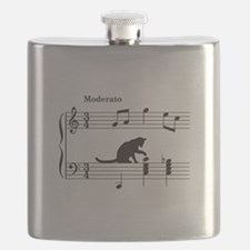 Cat Toying with Note v.2 Flask