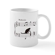 Cat Toying with Note v.2 Mug