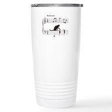 Cat Toying with Note v.2 Travel Mug