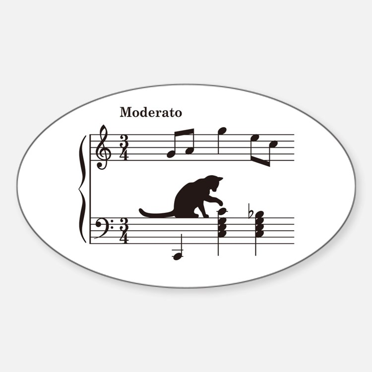 Cat Toying with Note v.2 Decal