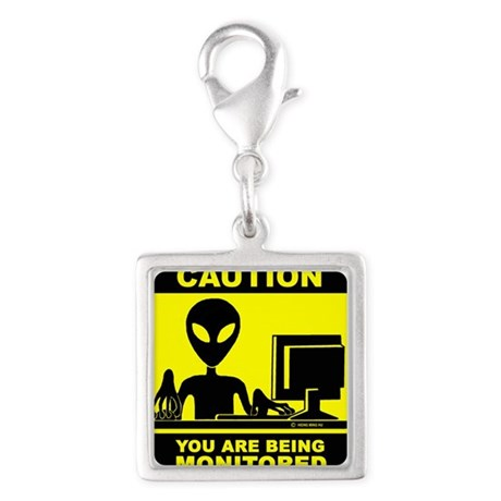 Caution! you are being monitored.png Silver Square
