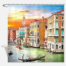 Venice Photo Shower Curtain