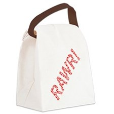 Dinosaurs rawr!.png Canvas Lunch Bag