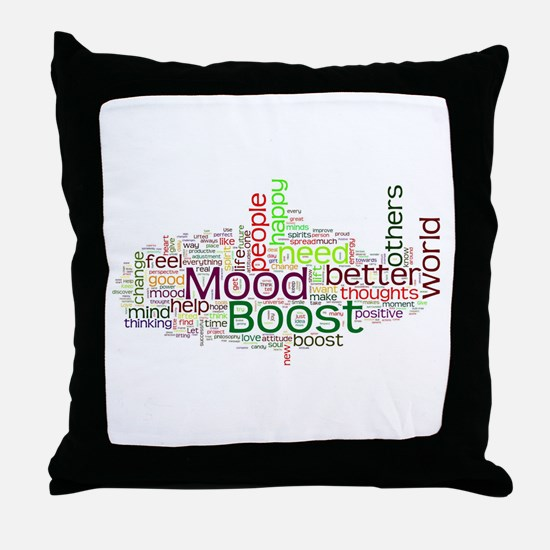 Funny Mood Throw Pillow