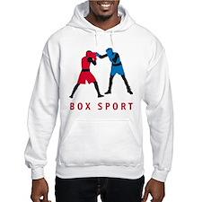 martial art box sports fighting Hoodie