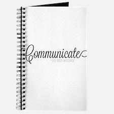 Communicate, use sign language Journal