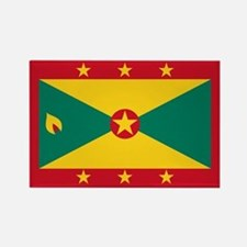 Flag of Grenada Rectangle Magnet