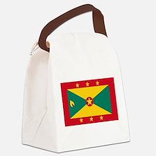 Flag of Grenada Canvas Lunch Bag
