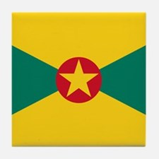 Flag of Grenada Tile Coaster