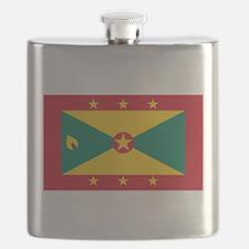 Flag of Grenada Flask