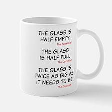 The glass is too big Mug