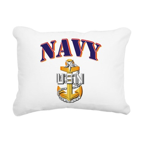 Navy - NAVY - SCPO Rectangular Canvas Pillow