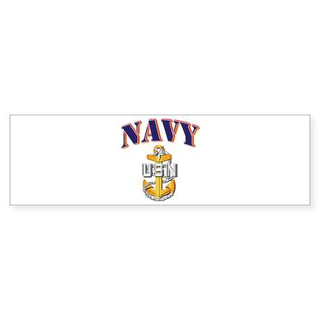 Navy - NAVY - SCPO Sticker (Bumper)