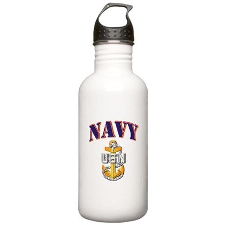 Navy - NAVY - SCPO Stainless Water Bottle 1.0L