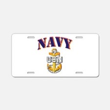 Navy - NAVY - SCPO Aluminum License Plate