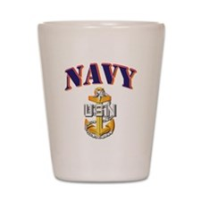 Navy - NAVY - SCPO Shot Glass