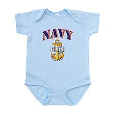 Navy - NAVY - SCPO Infant Bodysuit