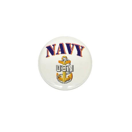 Navy - NAVY - SCPO Mini Button (100 pack)